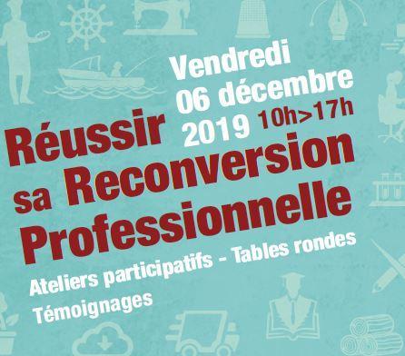 Atelier transfrontalier et Reconversion professionnelle, le 6 décembre 2019